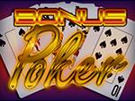 Play Bonus Poker Video Poker now!