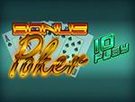 Play Bonus Poker 10 Play Video Poker now!