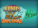 Play Bonus Poker Deluxe 10 Play Video Poker now!