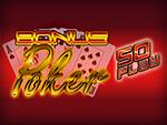 Play Bonus Poker 50 Play Video Poker now!