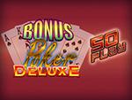 Play Bonus Poker Deluxe 50 Play Video Poker now!