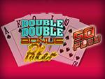 Play Double Double Bonus Poker 50 Play Video Poker now!