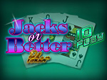 Play Jacks Or Better 10 Play Video Poker now!