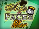 Play Aces And Faces Video Poker now!