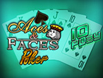 Play Aces And Faces 10 Play Video Poker now!