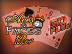 Play Aces And Faces 50 Play Video Poker now!