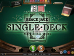 Single Deck Blackjack Pro